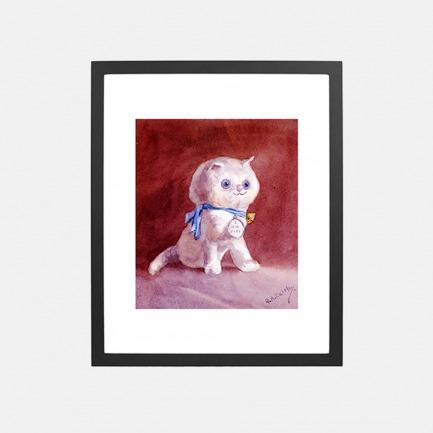 菲菲的小猫 家居装饰画 | 英国G.A. Cattley作品