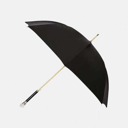 女款黑色雨伞 水晶球手柄 | 英国潮流女士都在用的伞