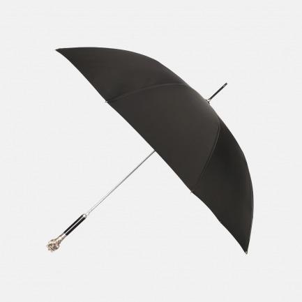 绅士雨伞 狮子头金属手柄 | 电镀精钢锻造 坚挺耐用