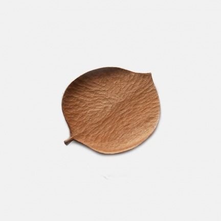 [山舍]秋山系列麻叶手工木碟