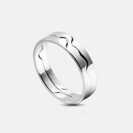 声波合体 925银情侣戒指 | 支持声音定制 对ta传情