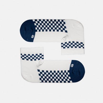 蓝白牛扎糖款 全棉长款男袜 | 为有趣的人做有趣的袜子