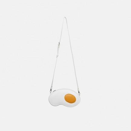 创意白色煎蛋单肩包/手拿包 | 创意设计 别具一格的造型