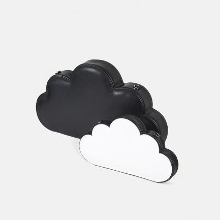 黑白浮云造型手拿包/单肩包 | 外形别具一格 颜色大小可选