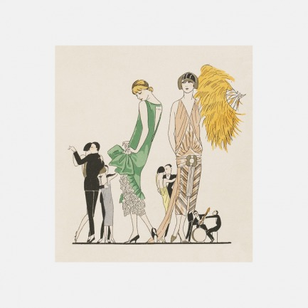 家居装饰画 一场时尚舞蹈 | 描绘追求摩登生活的女郎