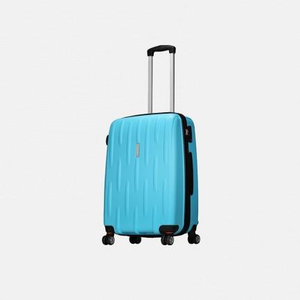 流星雨系列旅行箱 晴空蓝   箱体轻盈 坚固耐用耐刮花