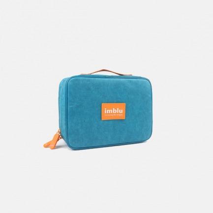 撕不烂的超轻防水杜邦纸 imblu便携旅行洗漱包收纳袋(多色)