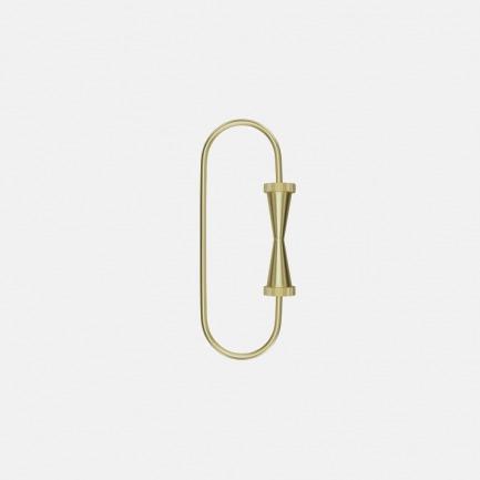 黄铜齿轮系列钥匙环   坚固黄铜打造 灵感齿轮设计
