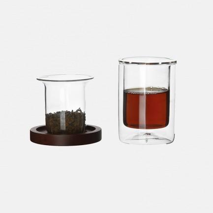 ZK双层玻璃单杯套装 | 以建筑主张设计出的茶杯