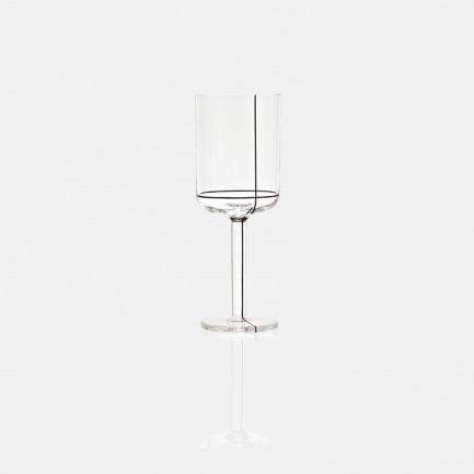 北欧白葡萄酒杯   晶莹剔透 线条优美