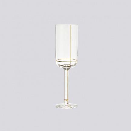 北欧金线玻璃杯     制作精美 两款可选