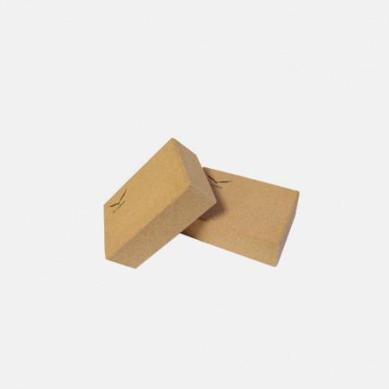 高密度软木瑜伽砖