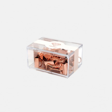 创意办公文具 玫瑰金系列票夹(两款可选)