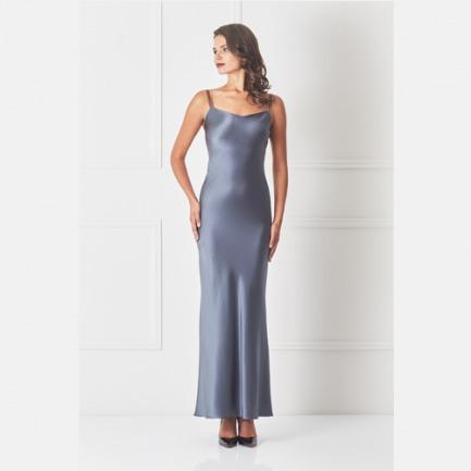 优雅魅力 丝绸吊带睡裙 | 强调腰部的线条 合理剪裁
