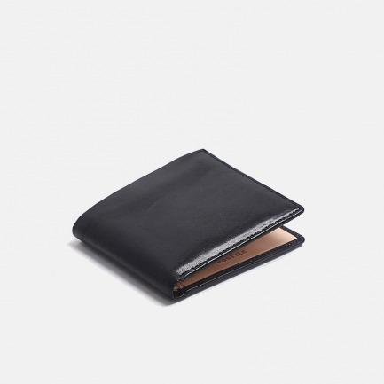 真牛皮横版短款钱包  | 全植鞣手工 设计极简
