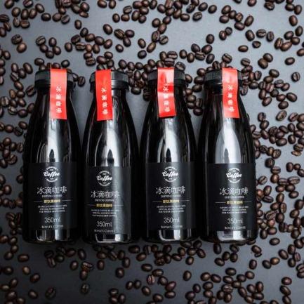 即饮冰滴咖啡 350ml4瓶装 | 冷萃技术口感醇厚