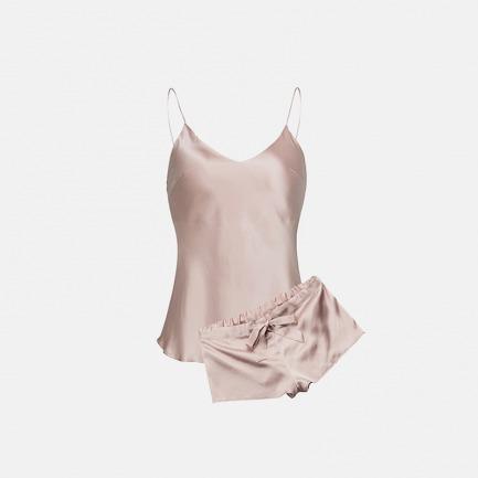 甜藕粉吊带短套装 | 真与性感完美的融合为一体