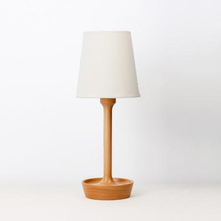复古实用原木小盘子台灯 | 精致生活必备 极简设计