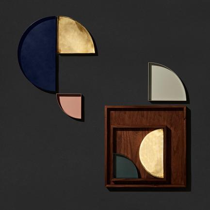 北欧简约黄铜托盘 | 不同形状和尺寸可自由组合