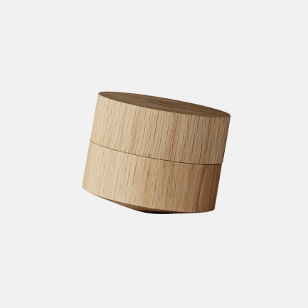 VOLVI 橡木倾斜调料罐