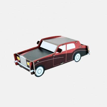 经典 劳斯莱斯车纸模型 | 简约却不失独特