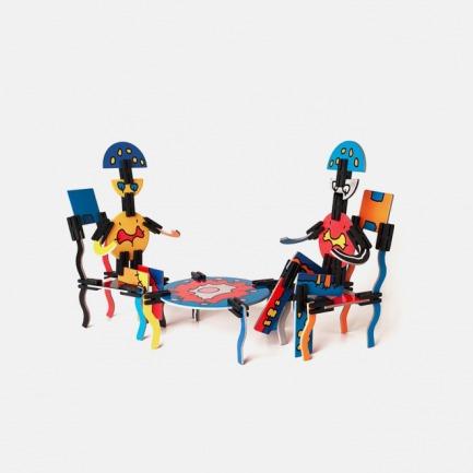 儿童艺术创想拼插积木 | 多彩创意 场景多样 立体拼插【三款可选】