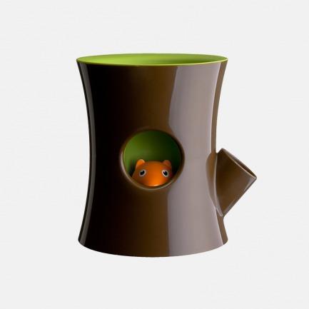 松鼠花器咖啡筒 两色可选 | 创意盆栽 多功能收纳