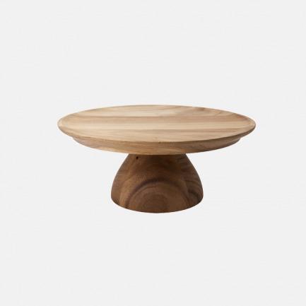 金合欢木蛋糕糖果架 | 原木质造,设计简约