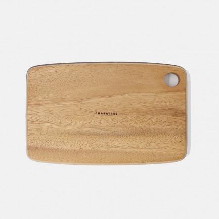 金合欢木方形食盘两号可选 | 原木打造,设计简约