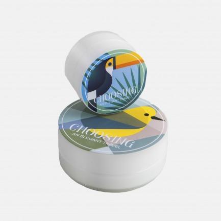 早鸟系列便携护肤盒2件套 | 轻巧、韧性好,方便携带。