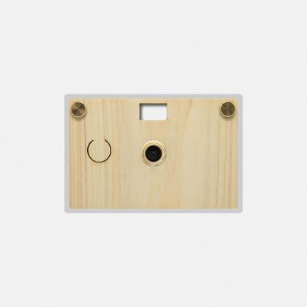 纸可拍超薄相机 | 稀有木材材质 机壳可定制刻字【多款可选】