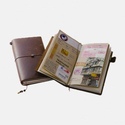 旅行者牛皮笔记本 | 最受欢迎的旅行手账
