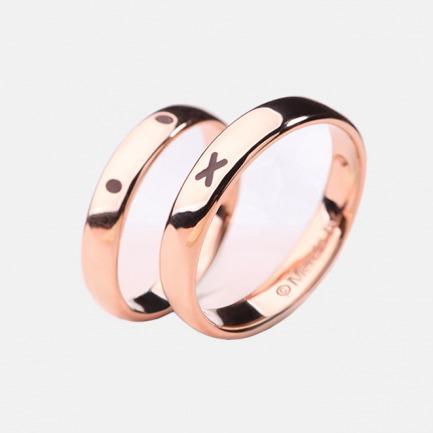 18K金戒指 |  情侣款对戒