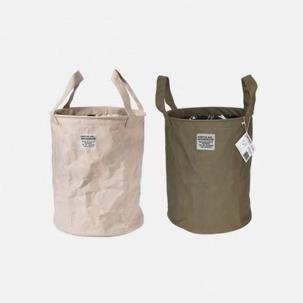 圆形收纳袋(两色) | 美式复古设计