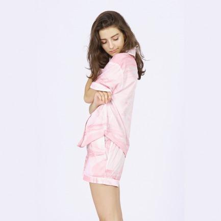 短款女士家居睡衣套装 | 艺术家合作款。