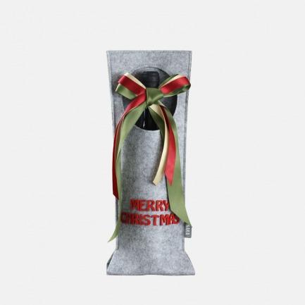 香槟礼品袋 | 单支提手款 绿色环保