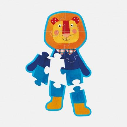 小狮子拼图 | Popipop益智系列 开发宝宝大脑的智力小游戏