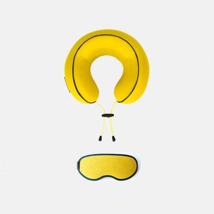 URBAN FOREST 花卷颈枕 眼罩礼盒套装 | 透气散热 吸收压力提供支撑【多色可选】