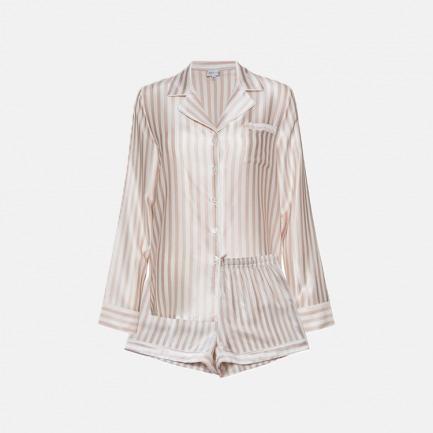 条纹短套装 Stripe Short Pajama Sets