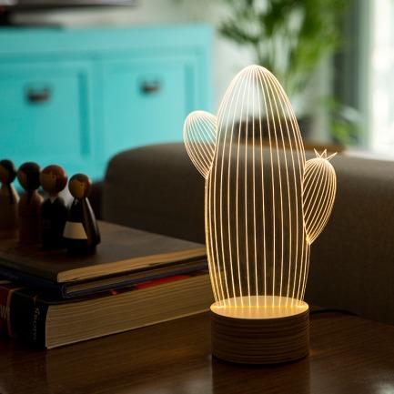 立体装饰台灯 | 3D视错觉设计 一场魔幻盛宴点亮你的家【多款可选】