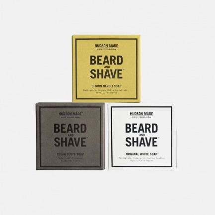 100%纯天然剃须皂 | 具有胡须护理香波和剃须膏双重功效【多款可选】