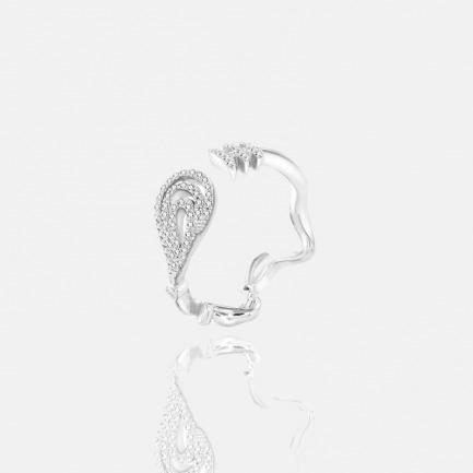 涟漪系列天然红宝石戒指 | 原创独立设计