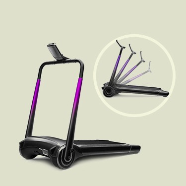 酷动智能跑步机加长版 | 手机app便捷操控 一步折叠收纳