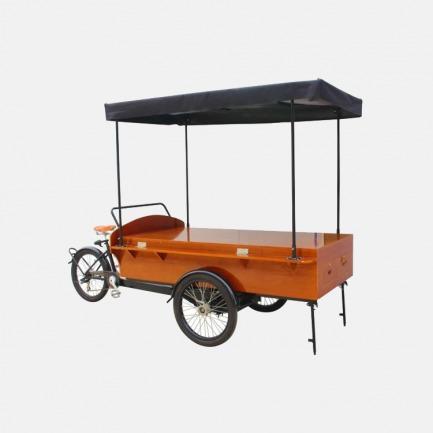 大型三轮商业贩售车  | 复古经典设计