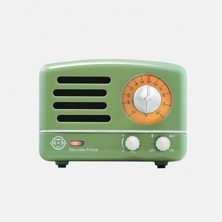 小王子金属款OTR收音机 | 复古嬉皮金属色