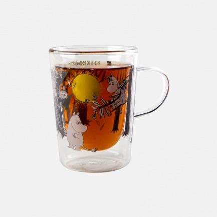 姆明玻璃杯玻璃瓶储物罐 | 带你重温童年乐趣