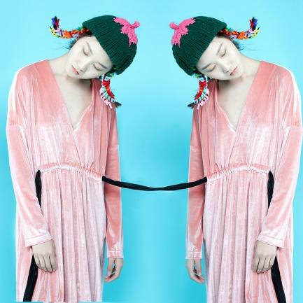 小芳104#冰岛棉线帽子 | 纯手工编织 柔软亲肤 不掉色