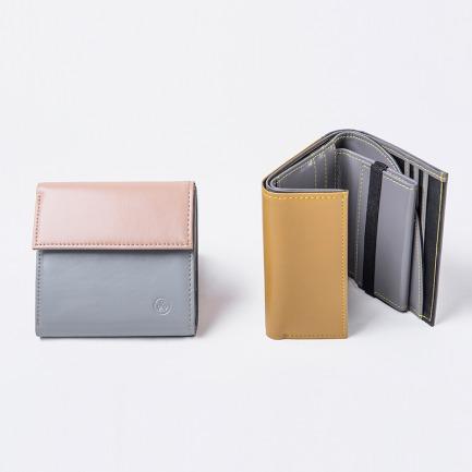 超强收纳的小方钱包 | 时尚简约超便携 两色可选