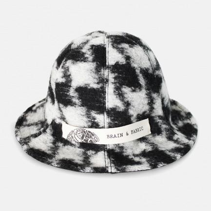 经典黑白格渔夫帽/盆帽 | 简约舒适 个性十足