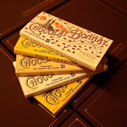 BO复古巧克力礼盒  | 内含稀有单源黑巧克力
